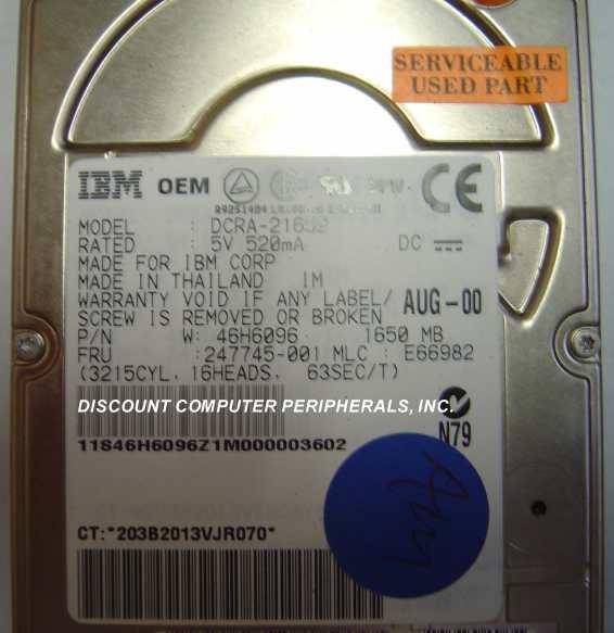 Ibm DCRA-21650
