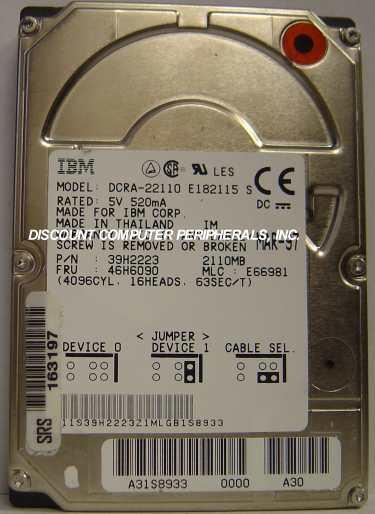 Ibm DCRA-22110