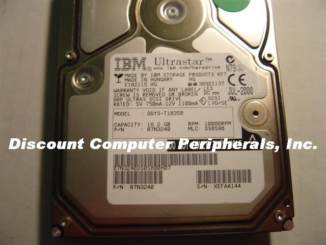 Ibm DDYS-T18350