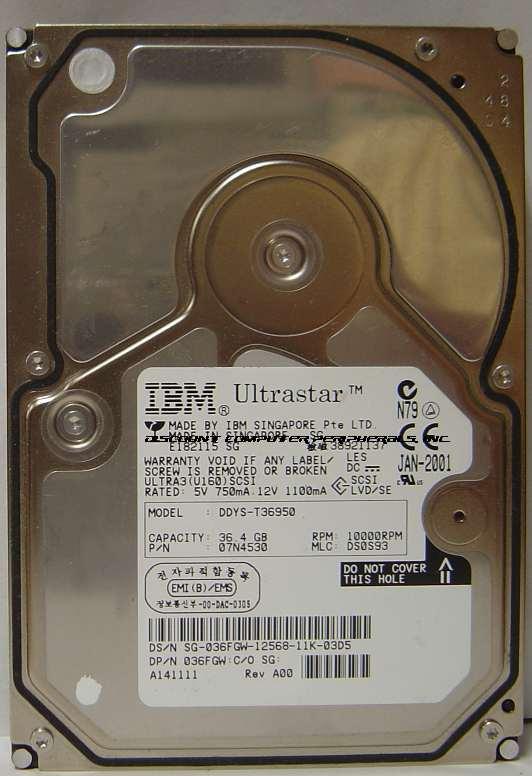 Ibm DDYS-T36950