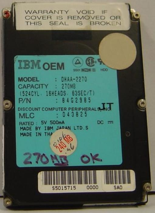 Ibm DHAA-2270_270MB