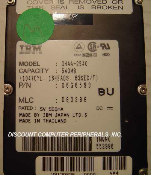 Ibm DHAA-2540