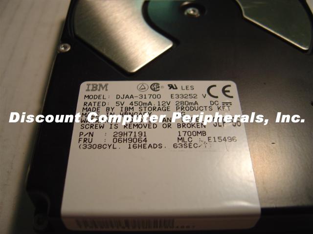 Ibm DJAA-31700