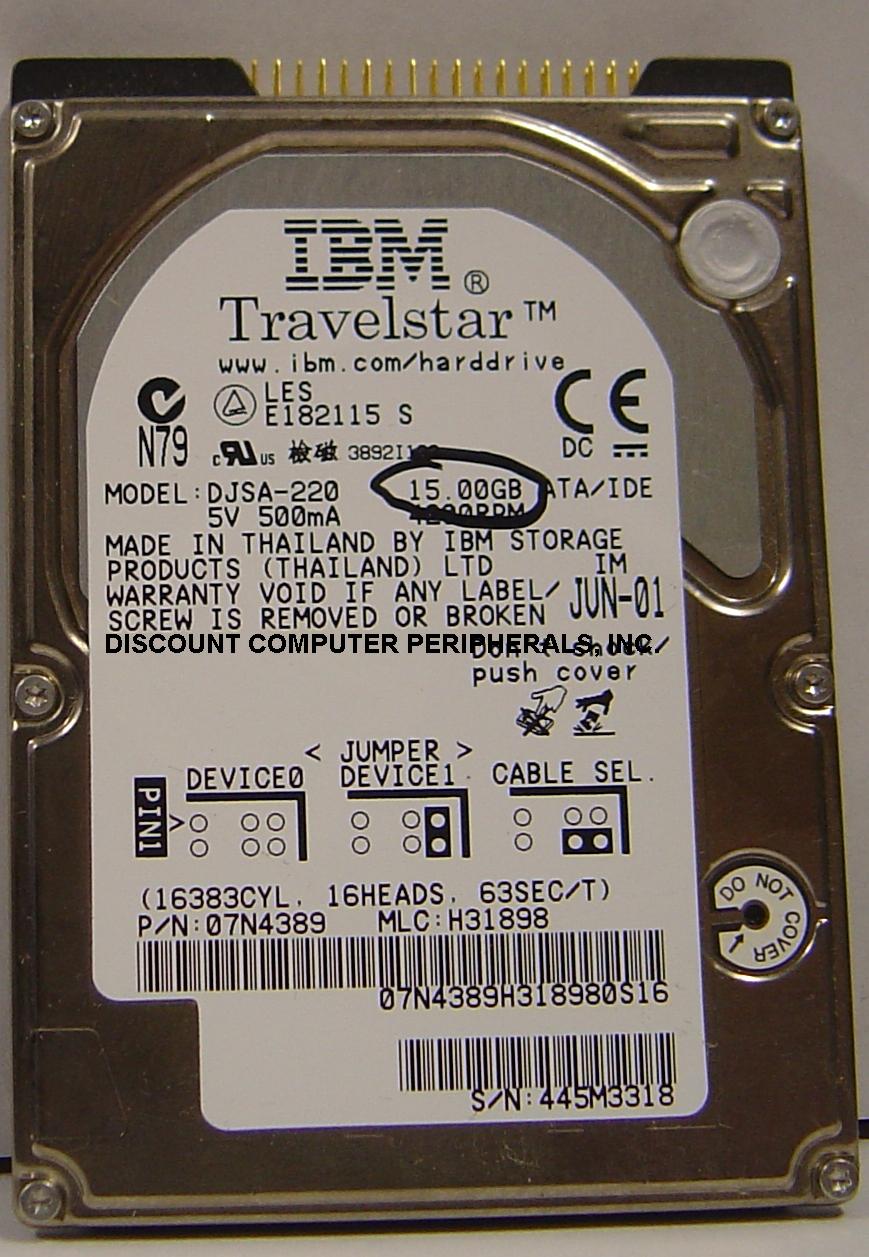 Ibm DJSA-220_15GB