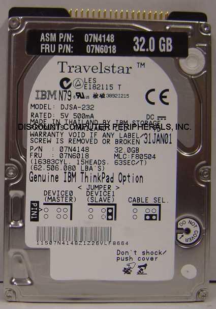 Ibm DJSA-232