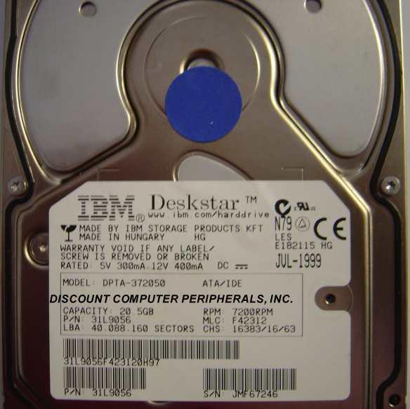 Ibm DPTA-372050