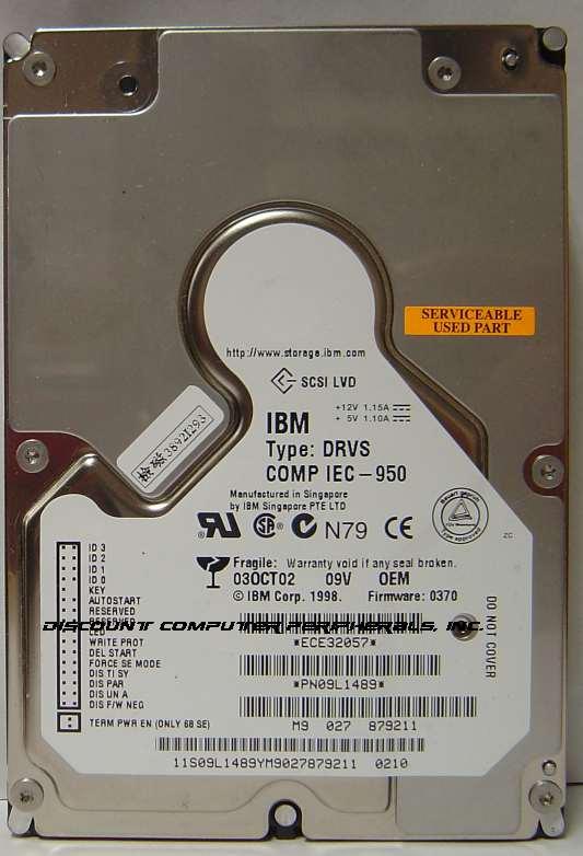 Ibm DRVS-09V