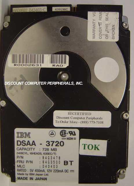 Ibm DSAA-3720