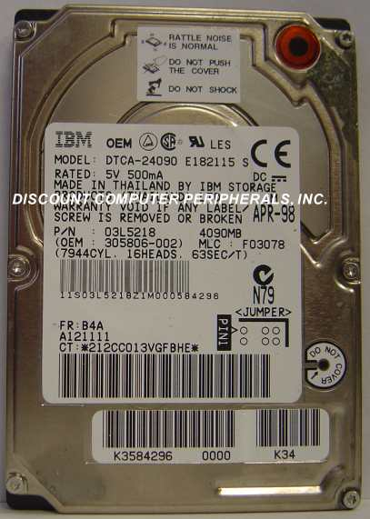 Ibm DTCA-24090