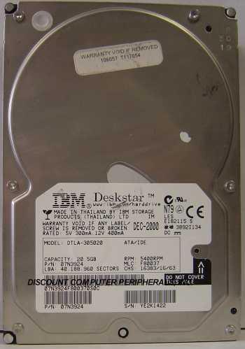 Ibm DTLA-305020