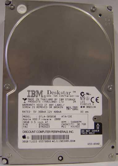 Ibm DTLA-305030