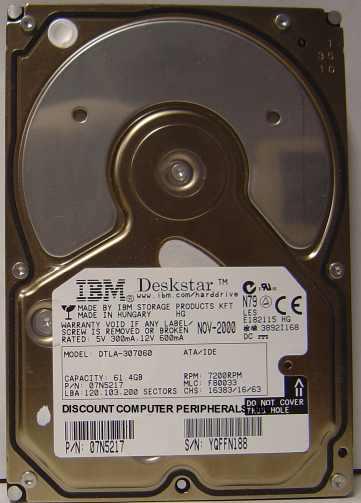 Ibm DTLA-307060