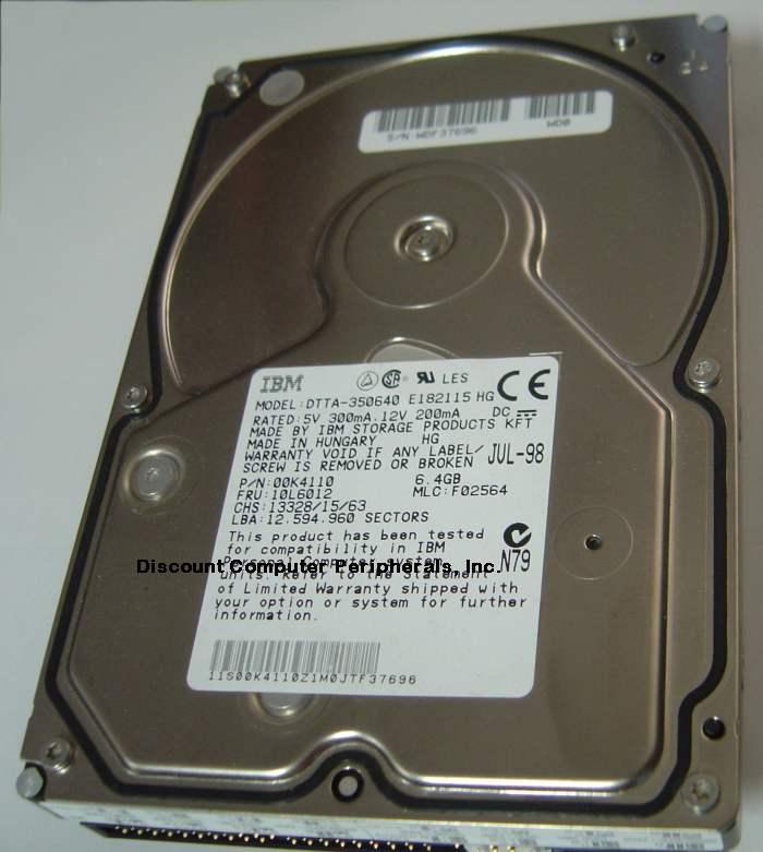 Ibm DTTA-350640