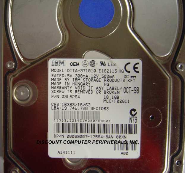 Ibm DTTA-371010