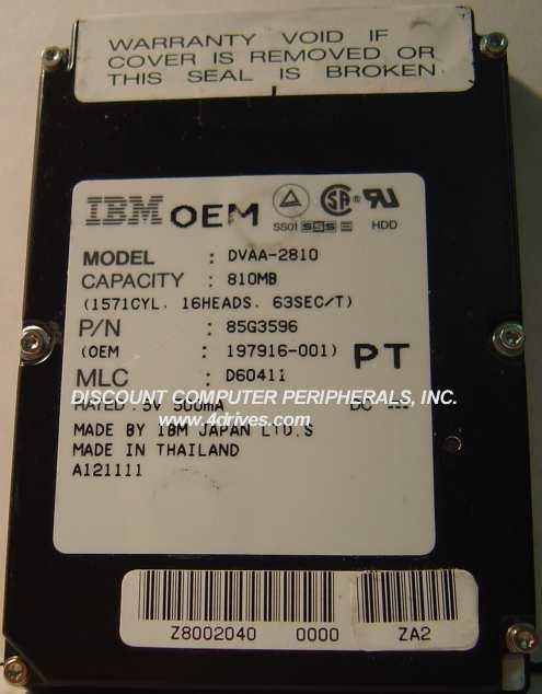 Ibm DVAA-2810