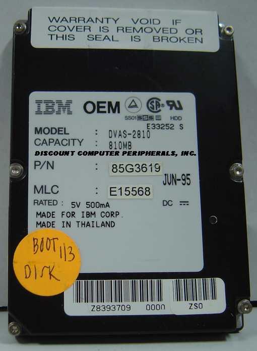 Ibm DVAS-2810