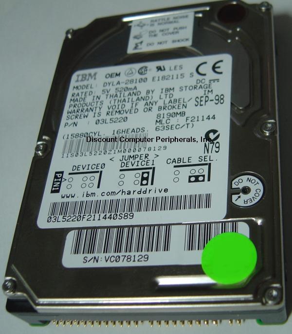 73H6430 IBM 73H6430 IBM 73H6430