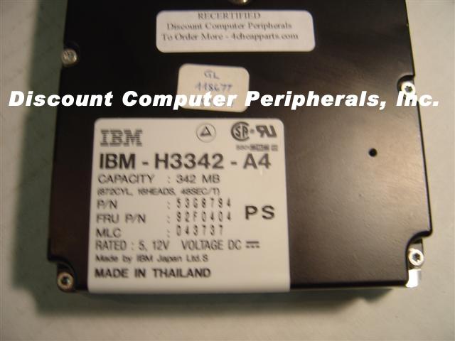 Ibm H3342-A4