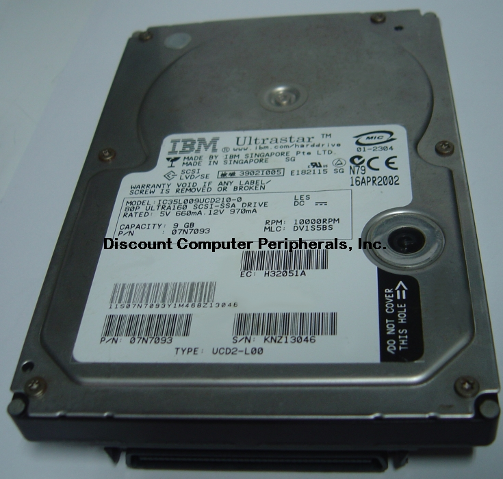 Ibm IC35L009UCD210