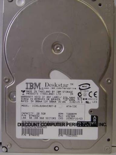 Ibm IC35L020AVER07-0