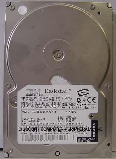 Ibm IC35L020AVVA07-0