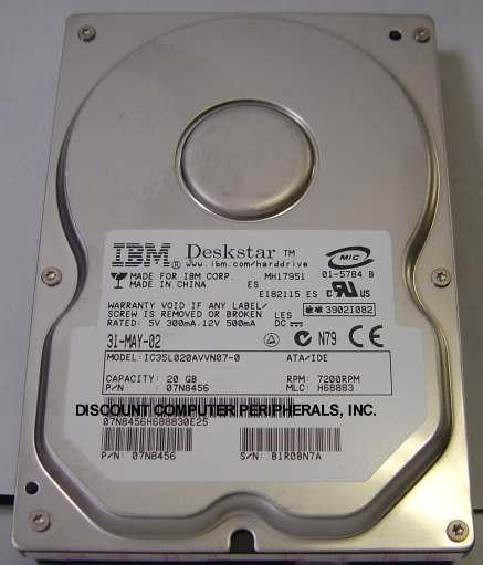 Ibm IC35L020AVVN07-0