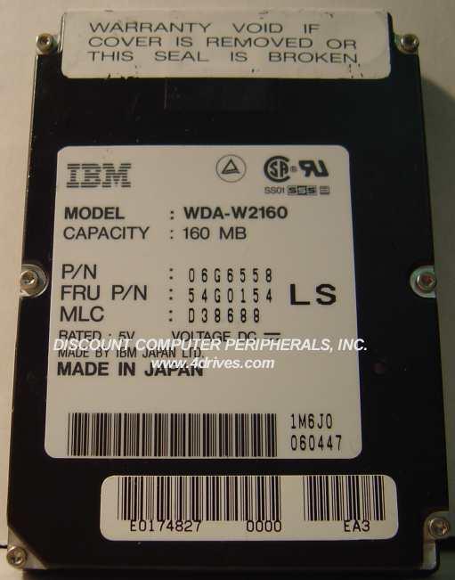 Ibm WDA-W2160