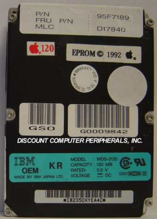 Ibm WDS-2120