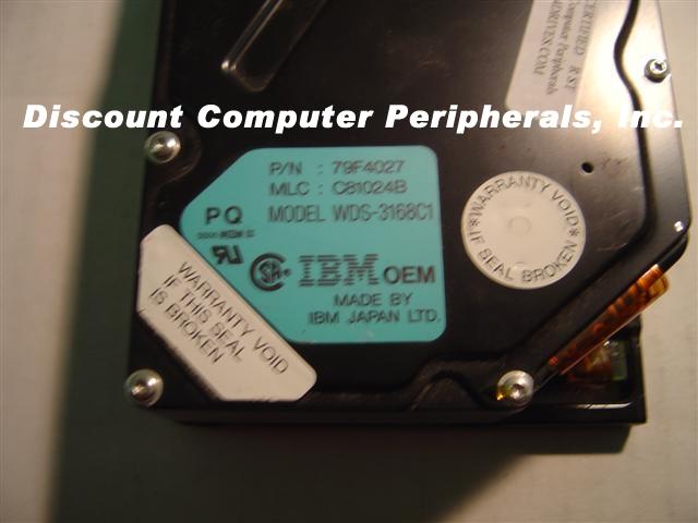 Ibm WDS-3168C1