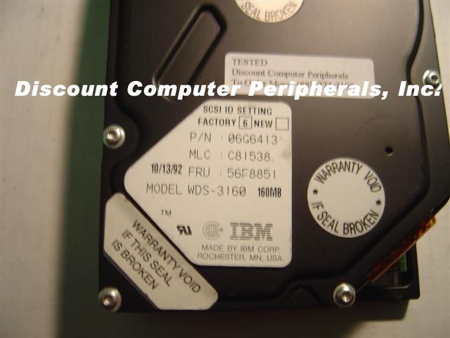 Ibm WDS3160