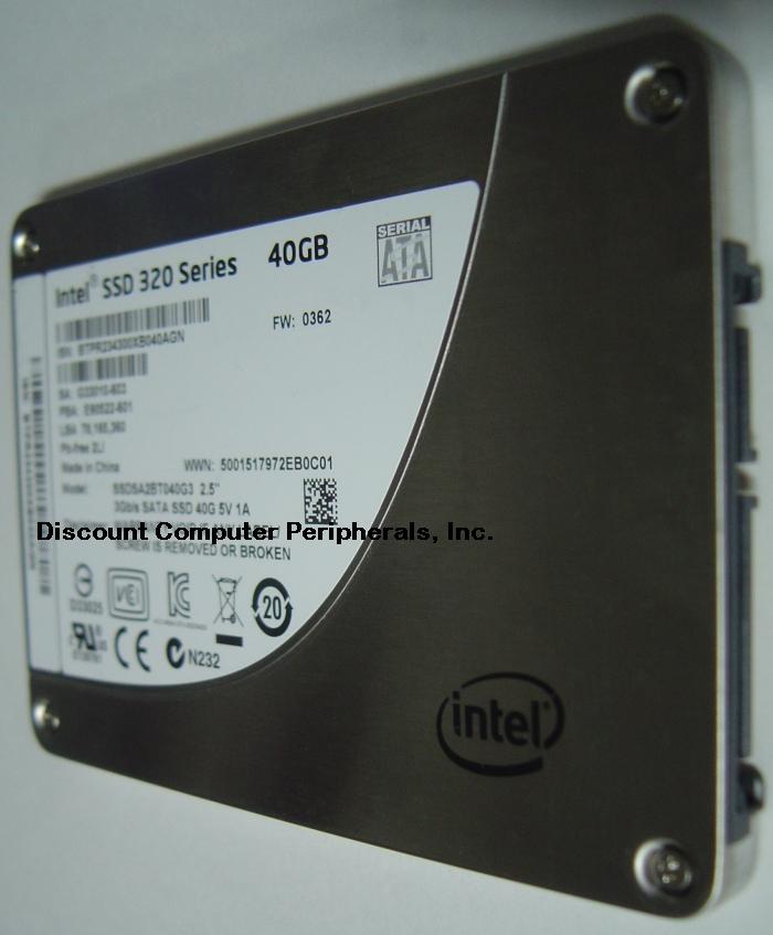 Intel SSDSA2BT040G3