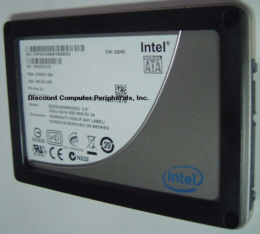 Intel SSDSA2M080G2GC