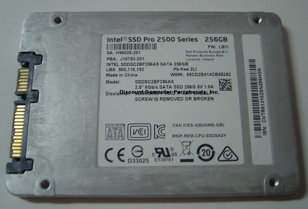 Intel SSDSC2BF256A5