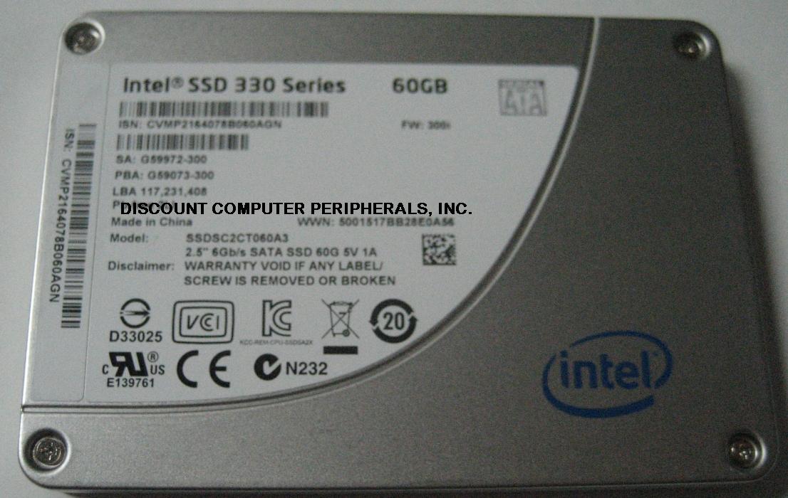 Intel SSDSC2CT060A3