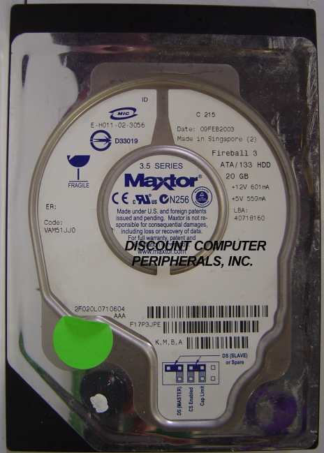Maxtor 2F020L0