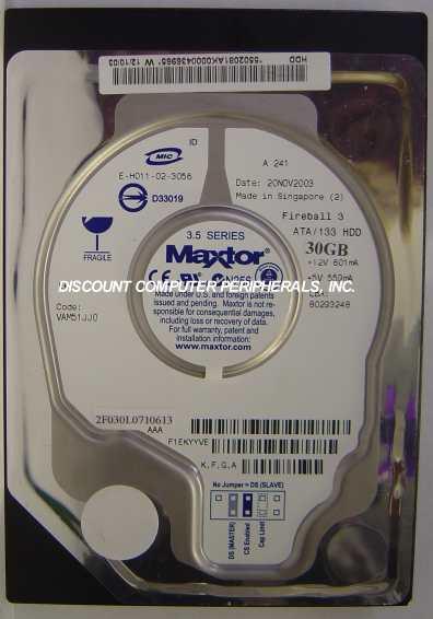 Maxtor 2F030L0