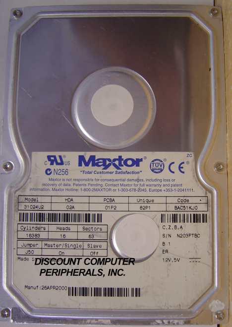 Maxtor 31024U2
