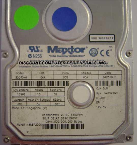 Maxtor 33073H4