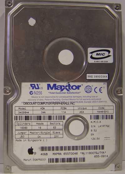 Maxtor 34098H4