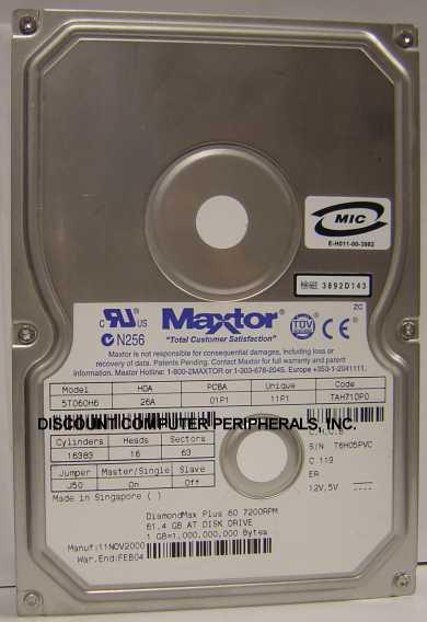 Maxtor 5T060H6