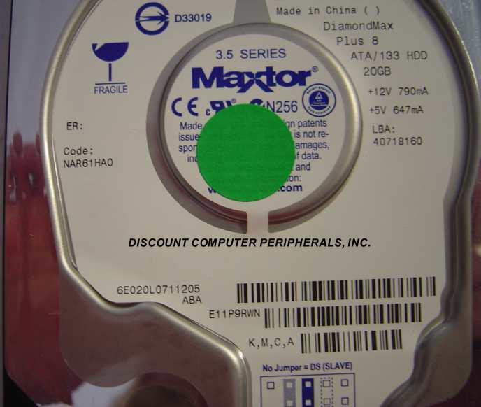 Maxtor 6E020L0