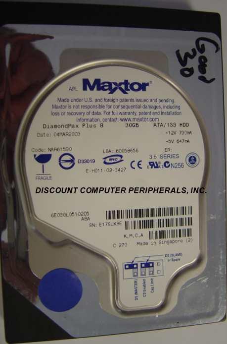 Maxtor 6E030L0