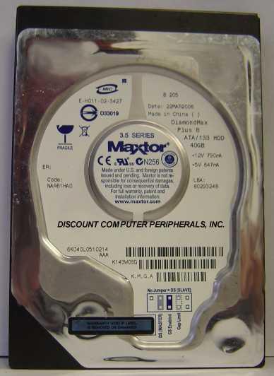 Maxtor 6K040L0