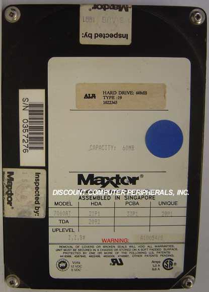 Maxtor 7060AT