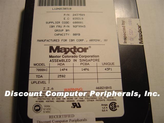 Maxtor 7080AI