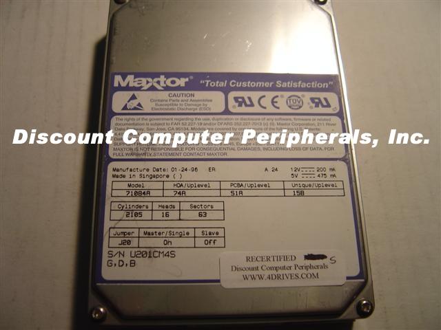 Maxtor 71084A