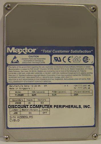 Maxtor 71260A