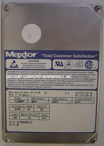 Maxtor 71260AT