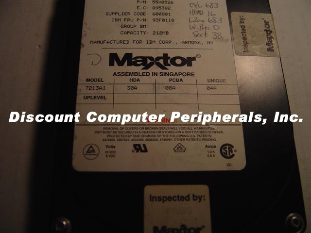 Maxtor 7213AI