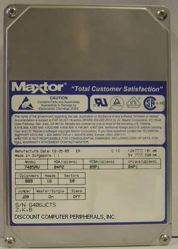 Maxtor 7405AV